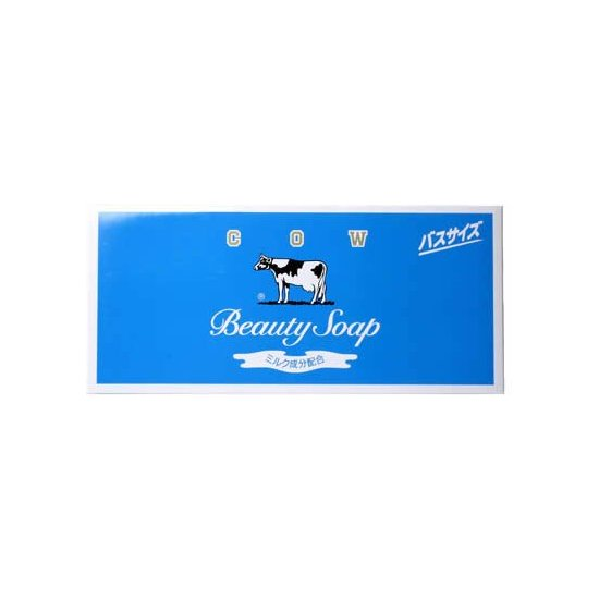 COW 牛乳石碱 牛奶保湿洁面皂 135g*6个