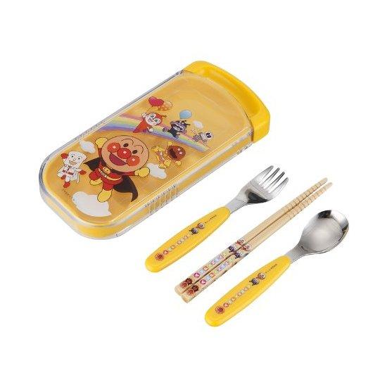 面包超人 Pinocchio 餐具 儿童餐具套装 叉勺筷子 随身携带