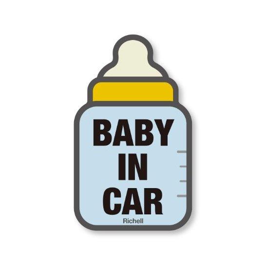 Richell 利其尔 个性汽车贴纸 夜光反射警示安全贴 两种可选
