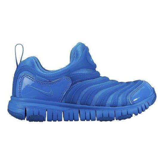 NIKE DYNAMO FREE 耐克毛毛虫童鞋蓝色