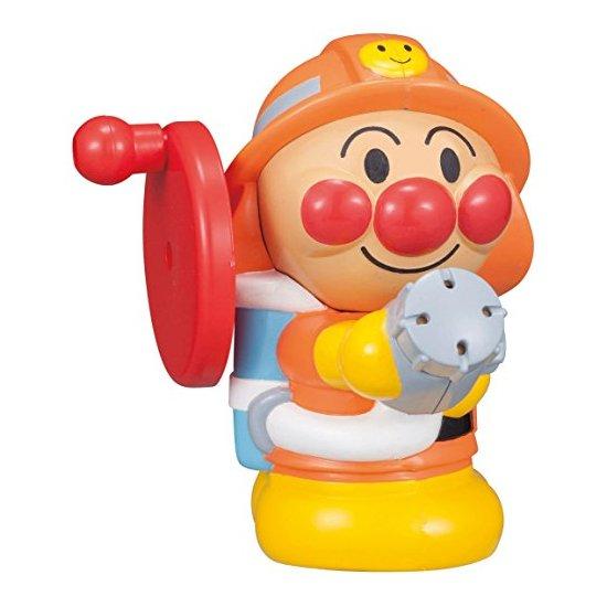 面包超人 消防员手摇水枪/射水玩具