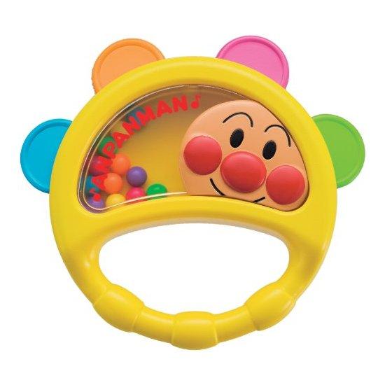 面包超人 Pinocchio 幼儿玩具儿童玩具五彩摇铃响铃