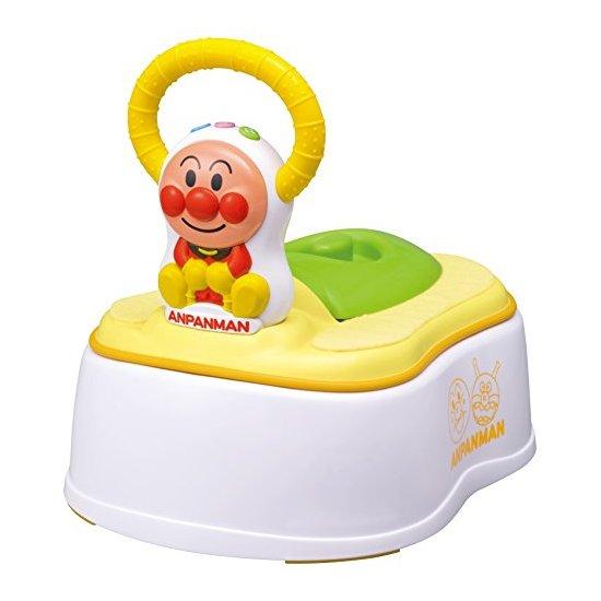 (更多日淘优惠请访问立夫转运) 家长对小孩子的如厕问题肯定都很关心,尤其是对于小宝贝,既要干净卫生,又要舒服的坐便器,才能让宝宝乖乖的坐上去,哄着宝宝上厕所都是很多家长头疼的问题。这款面包超人5种模式有声儿童坐便器就可以为家长解除这个烦恼,让宝宝们乖乖地坐在上面。 面包超人5种模式有声儿童坐便器有五种不同的模式可以变换,第一种是扶手放在前面的;第二种是扶手放在后面当靠背;第三种是马桶圈放在正常的马桶上而且扶手前置,第四种是马桶圈放在正常的马桶上扶手后置;第五种就是当孩子习惯正常的马桶圈时,可以将这款坐便器