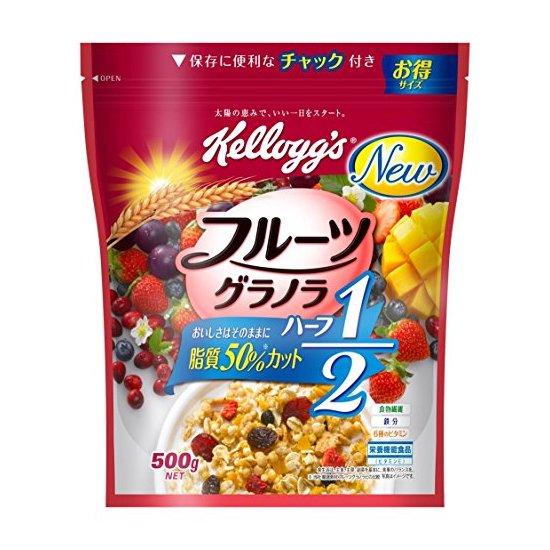 KELLOGG'S 家乐氏 低脂水果谷物麦片500g