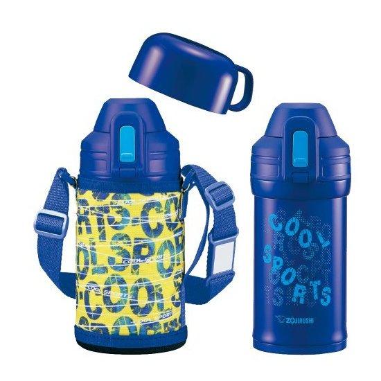 象印  不锈钢瓶0.62L 两用杯子 SP-HA06-AZ