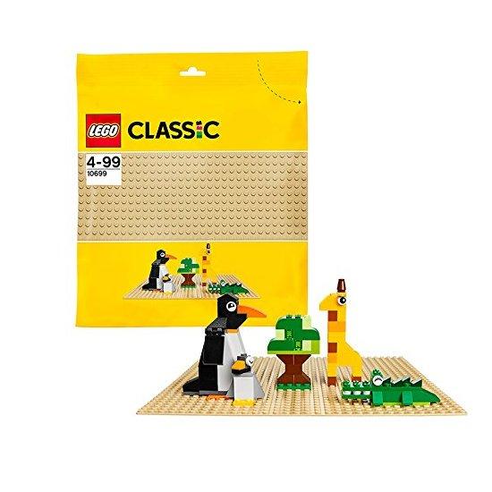 LEGO 乐高 经典家庭套装 砂色底板 基础板 10699