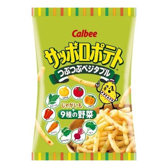 卡乐比 calbee 9种蔬菜脆薯条土豆条 24g×24袋