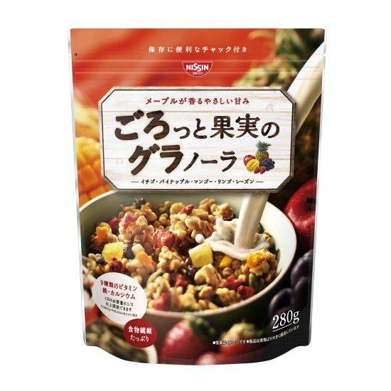 日清 GooTa 高纤维水果果仁谷物麦片低卡
