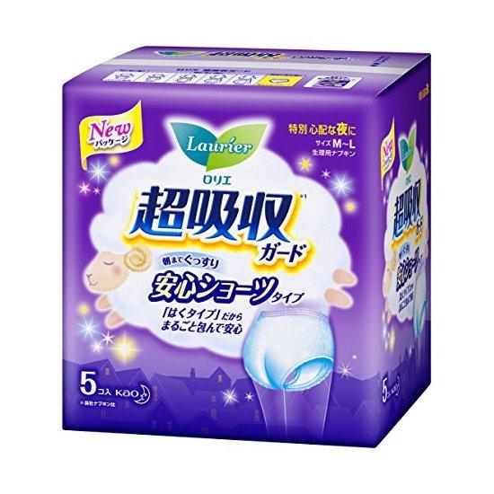花王 乐而雅 夜用卫生巾(裤型)