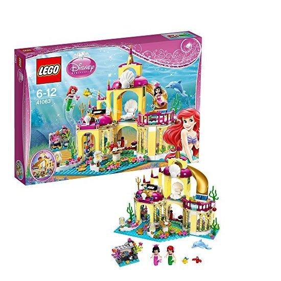 lego 乐高 小美人鱼的浪漫海底宫殿 41063图片