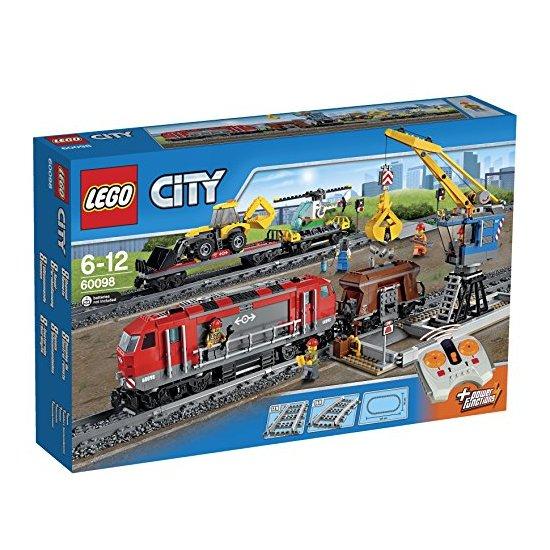 LEGO 乐高 城市系列 重载火车 60098