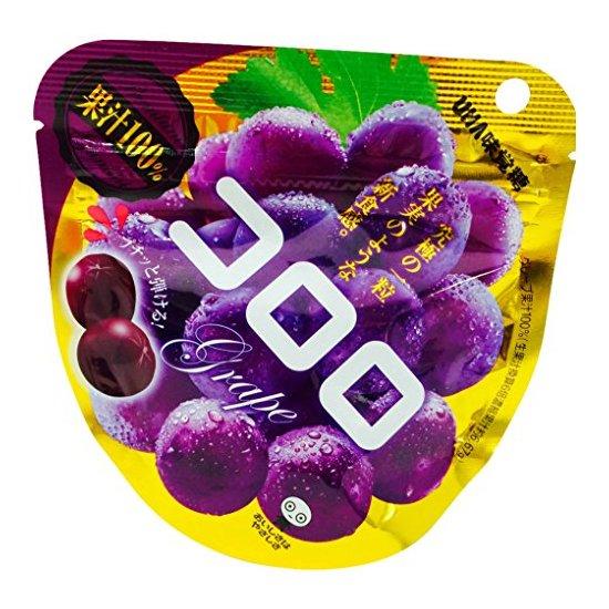 Uha 悠哈 味觉糖系列 葡萄软糖 40g*6袋