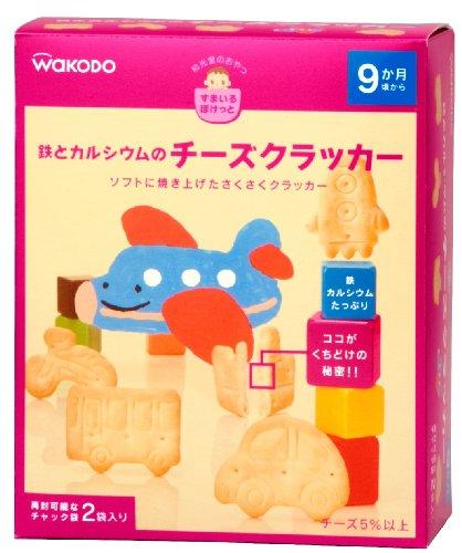WAKODO和光堂 交通工具图案 补铁磨牙饼干 6盒