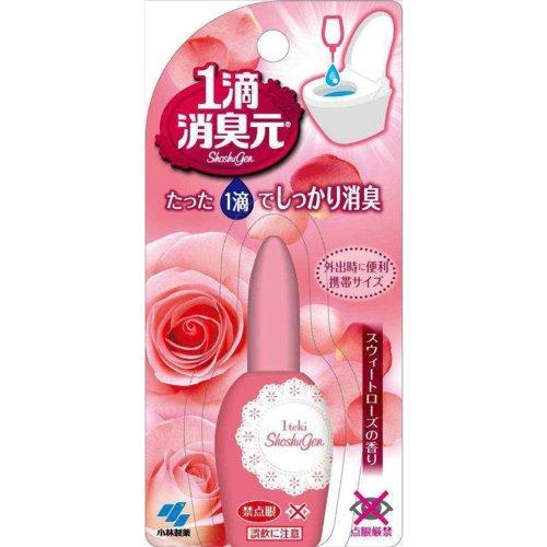 小林制药 1滴消臭元 马桶使用消臭芳香剂玫瑰香20ml