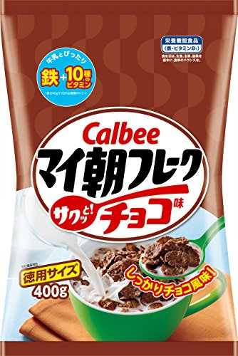 Calbee 巧克力玉米片400g