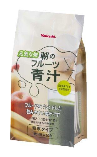 Yakult养乐多 水果味大麦若叶青汁 7gx15袋