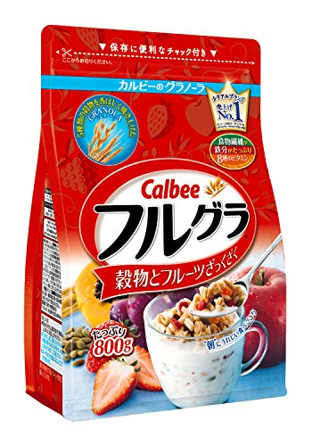 Calbee 卡乐比 水果颗粒果仁谷物 营养麦片 800g