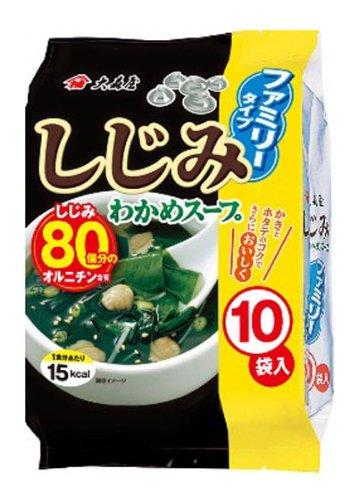 大森屋 日式味增汤 海带速食 5.4g*10袋