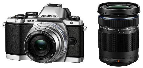 OLYMPUS 奥林巴斯 E-M10 M4/3 可换镜头数码相机14-42mm+40-150mm 双镜头套机