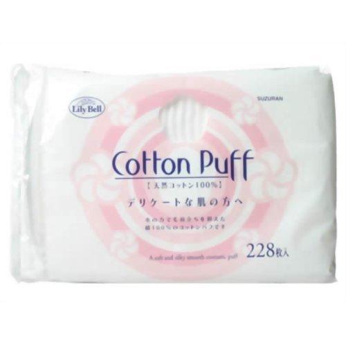 凑单品:LilyBell丽丽贝尔cotton puff化妆棉 228枚