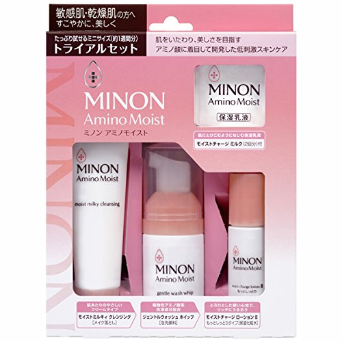 MINON氨基酸实用保湿旅行套装4件套