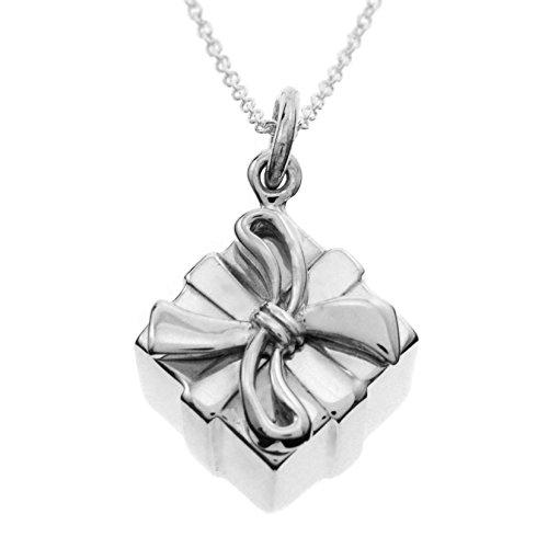 Tiffany 蒂凡尼 礼物盒造型项链 27241549