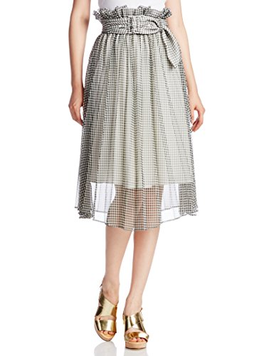 snidel 女士高腰款系带半身裙
