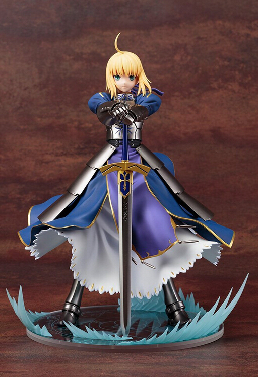 Fate stay night PVC製 手办 saber 阿尔托利亚