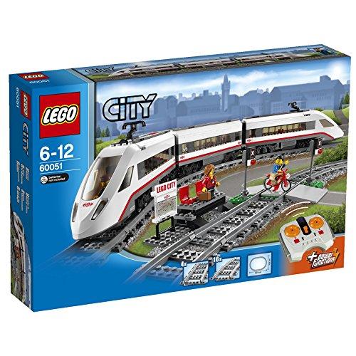 LEGO 乐高 城市系列 60051 高速客运列车