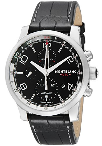 MONTBLANC 万宝龙 TIME WALKER UTC 时光行者 107336 男款机械计时腕表