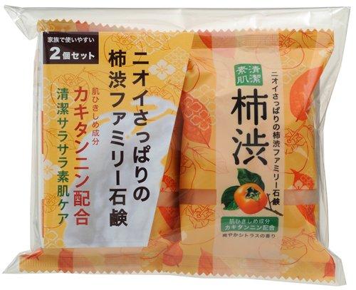 柿子滋润精华香皂 80g*2个