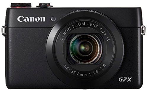 明星款!Canon佳能 PowerShot G7X数码相机( 2020万像素+光学4.2倍变焦+3.0英寸可旋转屏)