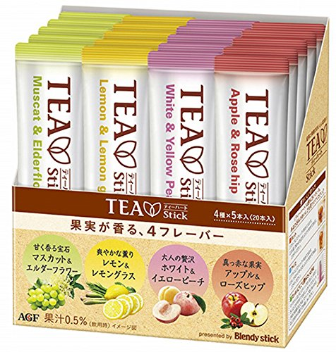 AGF Blendy TEA Stick 水果茶綜合包 20袋