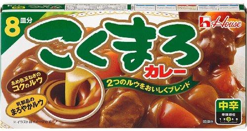 日本好侍浓厚咖喱块140g*5