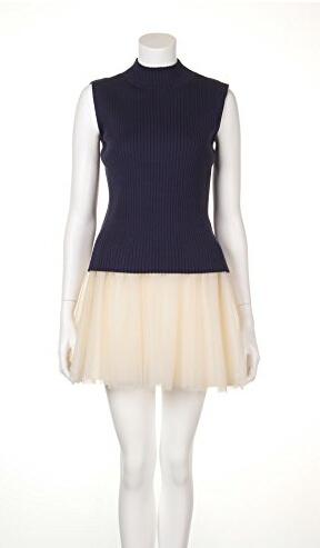 snidel 无袖针织连衣裙 2件套
